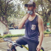 Zain Imam heads out for a 27 kms long cycle ride around the city