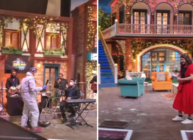 Watch: Cardboard cut-outs replace audience and other changes seen during the shoot of Kapil Sharma Show