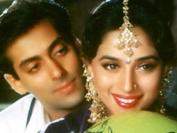 26 Years Of Hum Aapke Hain Koun Madhuri Dixit shares a collage recreating the signature pose with Salman Khan
