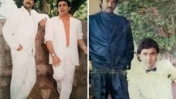 32 Years Of Vijay Anil Kapoor shares pictures of his first photoshoot with Rishi Kapoor aka James