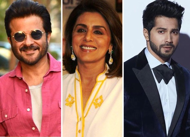 Anil Kapoor and Neetu Kapoor to play Varun Dhawan's parents in upcoming romantic comedy