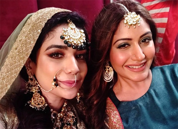 Anjum Fakih finds a 'bro' in Surbhi Chandna, shares adorable pictures from the sets of Naagin 5
