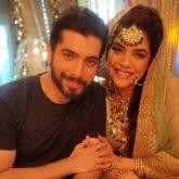 Anjum Fakih shares pictures with her favourtie, Sharad Malhotra, from the sets of Naagin 5