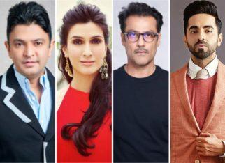 Bhushan Kumar and Pragya Kapoor to produce Abhishek Kapoor and Ayushmann Khurrana's untitled love story