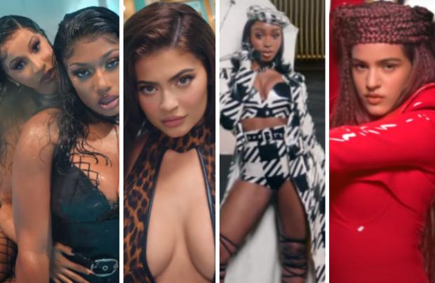 Cardi B & Megan Thee Stallion team up for zany 'WAP' music video, Kylie Jenner, Normani, Rosalia among others make cameos