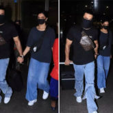 Deepika Padukone and Ranveer Singh match airport looks as they return from Bangalore