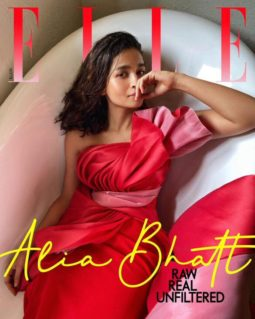 Alia Bhatt On The Cover Of Elle Magazine