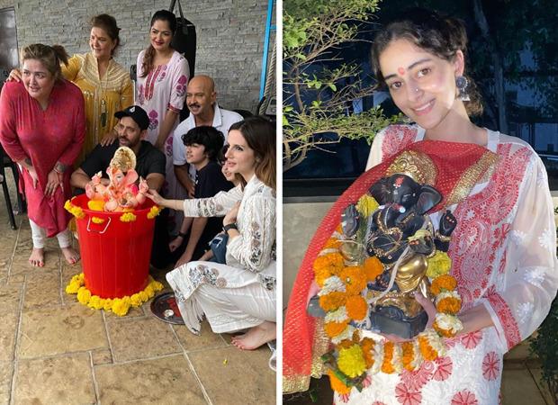 Ganesh Chaturthi 2020: Hrithik Roshan, Ananya Panday, Shraddha Kapoor among others bid farewell to Ganpati Bappa