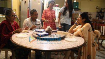 On The Sets from the movie Gunjan Saxena - The Kargil Girl