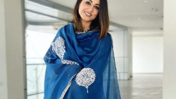 Hina Khan looks no less than blue blooded royalty in this ethereal ensemble