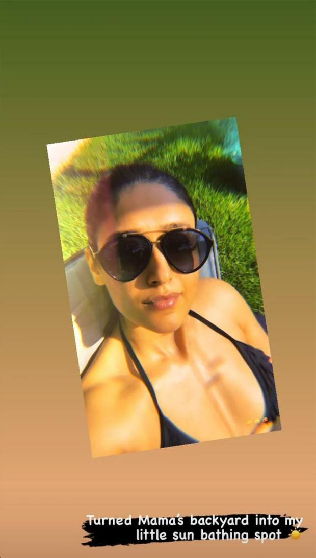Ileana D'Cruz shares sunkissed photos in bikini top, enjoys beautiful weather while listening to Snoop Dogg's song 'Sunshine'