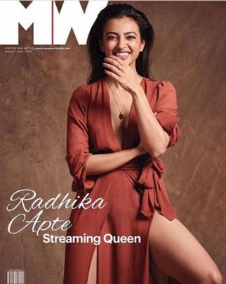 Radhika Apte on the cover of Man's World, Aug 2020