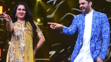 Padmini Kolhapure re-creates 'Yeh Gallian Yeh Choubara' on the sets of Sa Re Ga Ma Pa Lil Champs