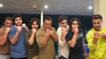 Salman Khan celebrates Raksha Bandhan; flaunts his rakhi with Arbaaz, Sohail, Aayush Sharma and more