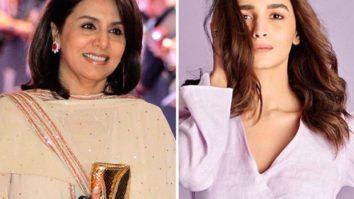 Neetu Kapoor says she cannot wait to watch Alia Bhatt starrer Sadak 2