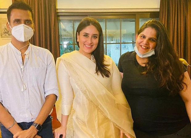 Kareena Kapoor Khan resumes work after pregnancy announcement; see pic