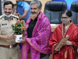 After recovering from COVID-19, SS Rajamouli participates in plasma donation awareness campaign in Hyderabad