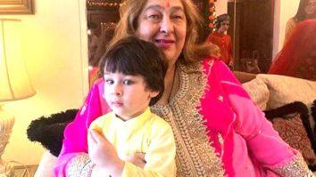 Kareena Kapoor Khan shares pictures of Taimur Ali Khan stealing the show at the Kapoor family meet