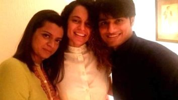 Picture of Kangana Ranaut posing with Sandip Ssingh and Rangoli Chandel goes viral
