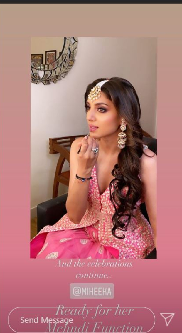 Rana Daggubati and Miheeka Bajaj are all smiles at their pre-wedding celebrations; see PICS