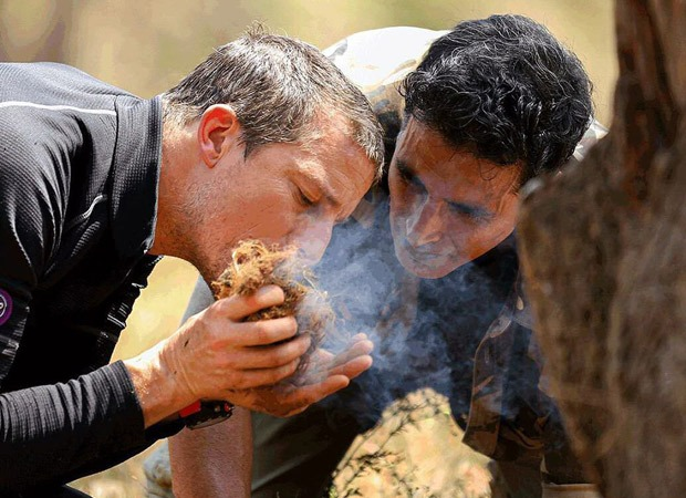 Akshay Kumar shares a still from Into The Wild, joins the 'Rasode Mein Kaun Tha' meme league