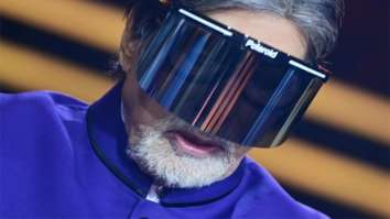 Amitabh Bachchan shares a picture wearing a face shield from Kaun Banega Crorepati 12, asks people to be safe