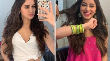 Ananya Panday shares throwback pictures from her first look test for Khaali Peeli
