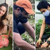 Ankita Lokhande, Mukesh Chhabra, Mahesh Shetty plant saplings under the #PlantForSSR movement for Sushant Singh Rajput