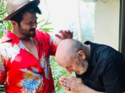 Anupam Kher thanks Anil Kapoor for blessing him before he left for Bhopal for the shoot of 'The Last Show'