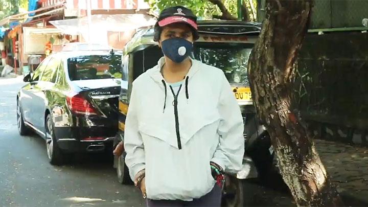Ekta Kapoor spotted in Juhu