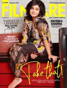 Vidya Balan On The Covers Of Filmfare