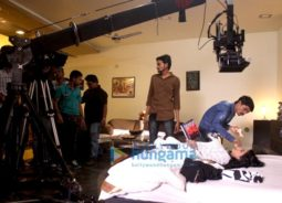 On The Sets from the movie Intezaar Koi Aane Ko Hai…