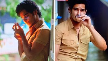 Ishaan Khatter lights a smoke and drinks cutting chai in the first look images of Khaali Peeli