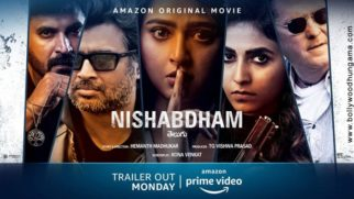 First Look Of The Movie Nishabdham
