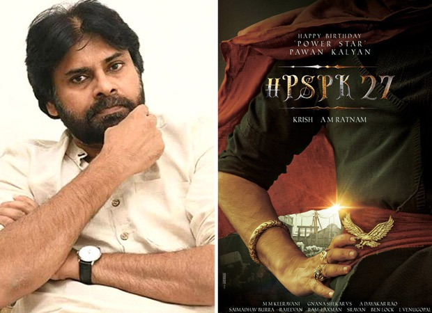 Pawan Kalyan teams up with director Krish for a period drama, releases first look on hai 49th birthday