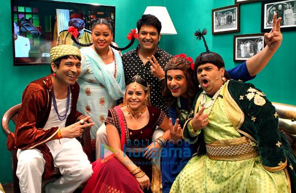 Photos Cast of Mahabharat visit the sets of The Kapil Sharma Show (11)