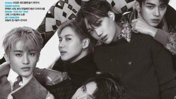 SUPERM members look breathtaking on the October issue of Elle Korea