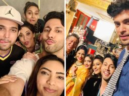 Sahil Anand shares pictures with the cast from his last day on the sets of Kasautii Zindagii Kay