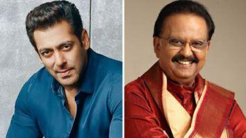 Salman Khan shares heartfelt post for SP Balasubrahmanyam's speedy recovery