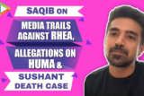 Saqib Saleem Jab bhi Rhea Chakraborty INNOCENT prove ho jayegi, kya ye News Channels...'