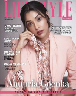 Anupriya Goenka On The Covers Of The Lifestyle