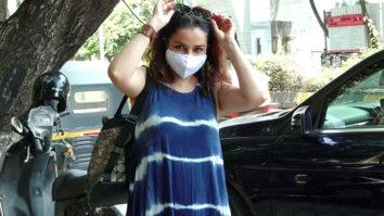 Tisca Chopra spotted at Kromakay salon in Juhu