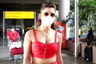 Urvashi Rautela spotted at the airport