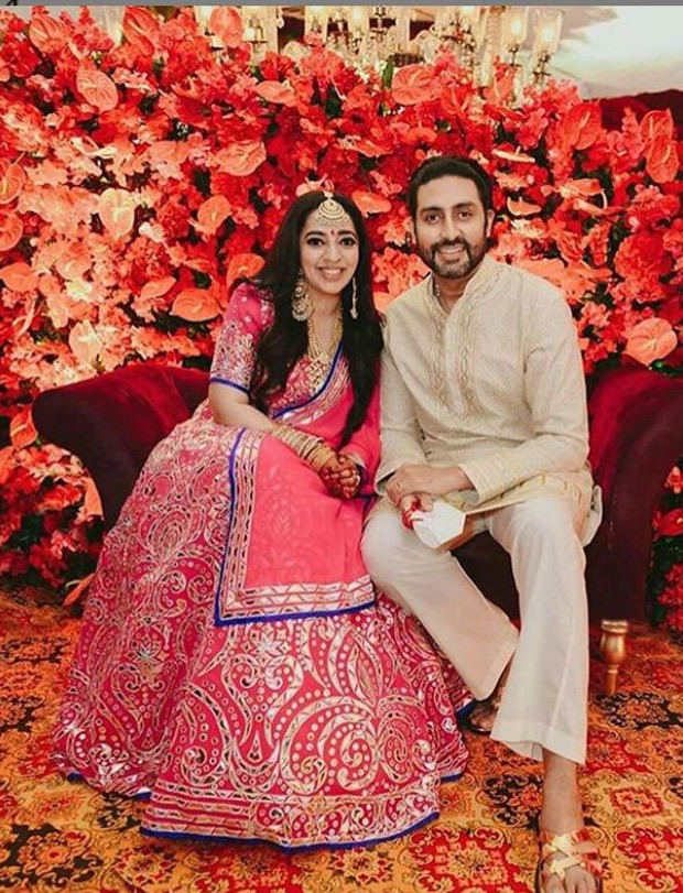Abhishek Bachchan attends JP Dutta's daughter's engagement ; first public appearance after COVID-19 recovery