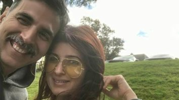 Twinkle Khanna gives a glimpse into Akshay Kumar's birthday celebration and Nitara's birthday card for him