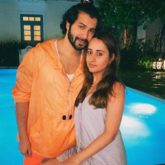 Varun Dhawan poses with girlfriend Natasha Dalal; says he won't be afraid as long as she is with him