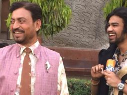 Irrfan Khan's son Babil Khan shares unseen BTS pictures from the set of Angrezi Medium