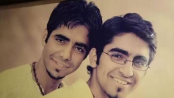 Aparshakti Khurana shares a picture with Ayushmann Khurrana from their first photoshoot together