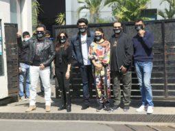 Bhoot Police team Saif Ali Khan, Arjun Kapoor, Jacqueline Fernandez and Yami Gautam leave for Dalhousie to kick off the shoot