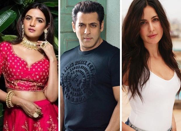 Bigg Boss 14 Jasmin Bhasin couldn't help but blush when Salman Khan addressed her as television's Katrina Kaif